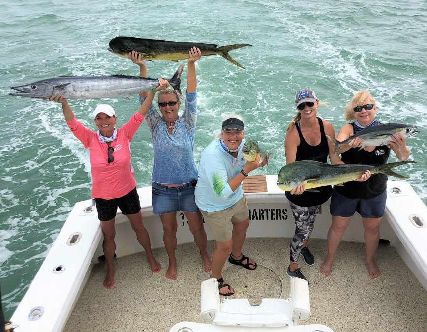 "New Anglers Become Winners at ""Ladies, Let's Go Fishing!"" Keys University Oct. 23-25, 2020"