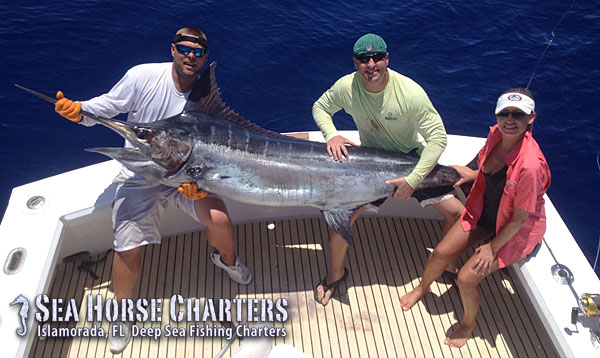 Book a fishing charter trip with The Sea Horse!