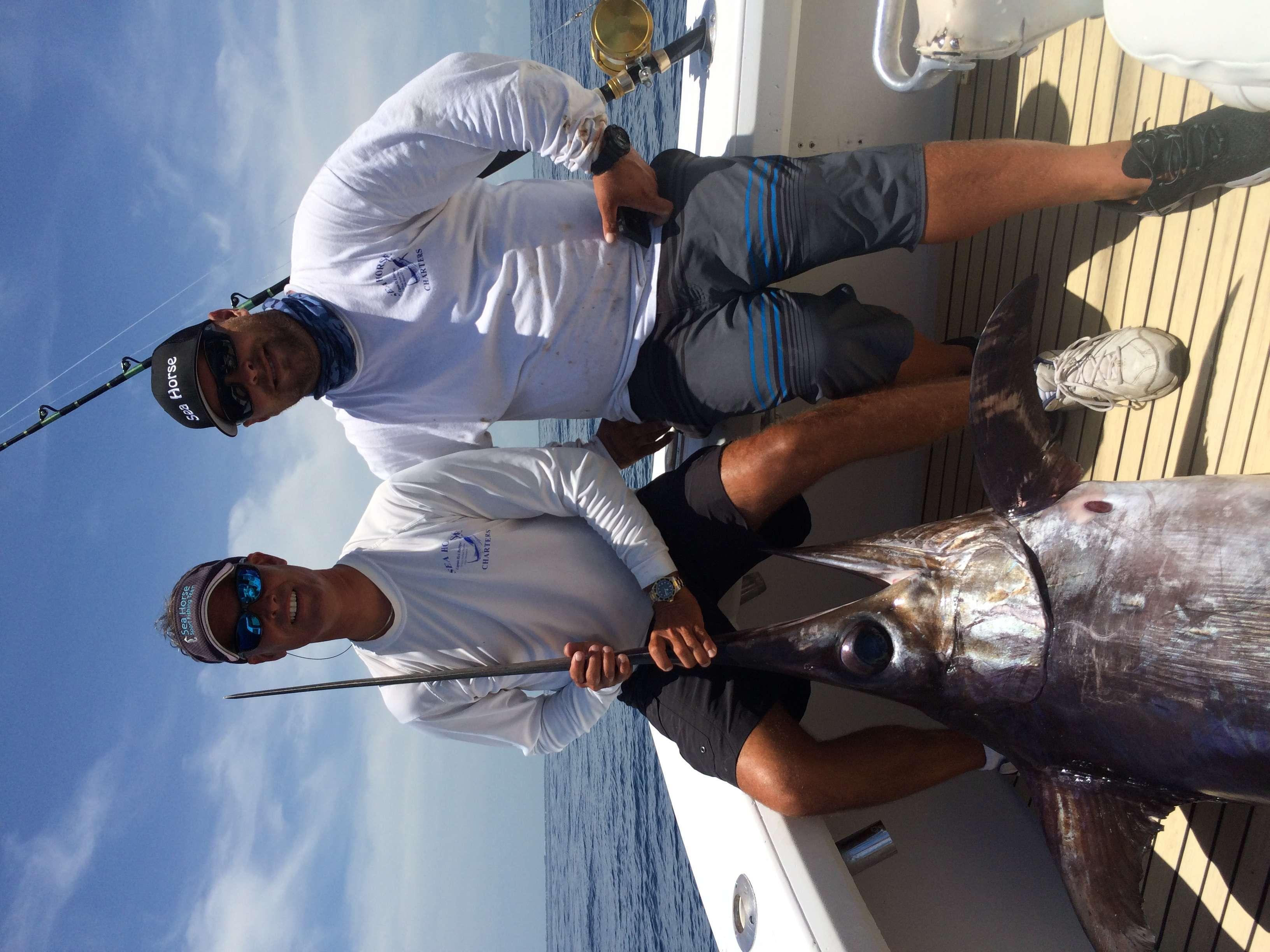 272 lb Swordfish!